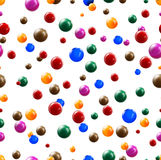 Balls seamless background. 3d balls seamless background. Vector eps 10 Royalty Free Stock Image