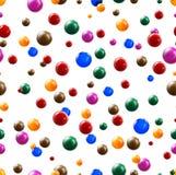 Balls seamless background Royalty Free Stock Image