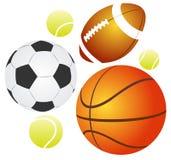 Balls set Stock Images