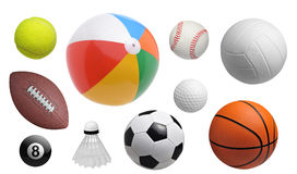 Balls set Royalty Free Stock Images