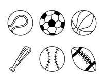Balls sport design Stock Image