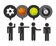 Balls sport Stock Images