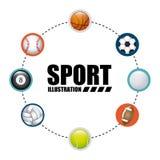 Balls sport Stock Image