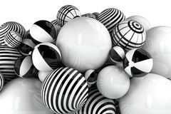 Balls still life Stock Photography