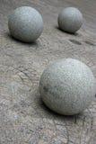 balls stone στοκ εικόνες