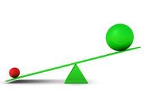 Balls on swing Stock Image