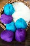 Balls of thread Stock Photo