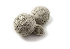 Balls of thread Stock Image
