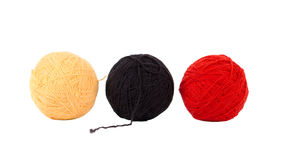 Balls of thread. Royalty Free Stock Image