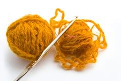 Balls of threads Stock Photos