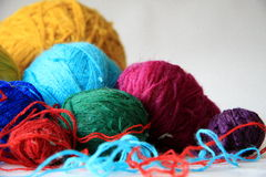 Balls of threads Royalty Free Stock Photography