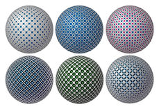 Balls of the vector Royalty Free Stock Photography