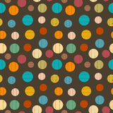 Balls in Vintage Colors Stock Image