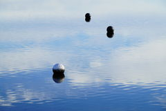 Balls on the Water Stock Images