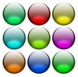Balls for web-design Stock Photos