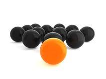 Balls on white background Stock Photo