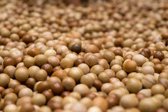 Balls from wood Royalty Free Stock Photography