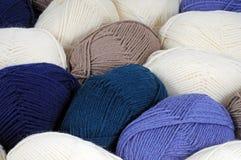 Balls of wool. Stock Image