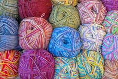 Balls of wools Stock Photography