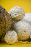 Balls of yarn Royalty Free Stock Images