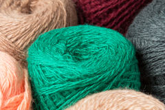 Balls of yarn Stock Photos