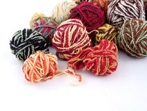 Balls of yarn Royalty Free Stock Photo