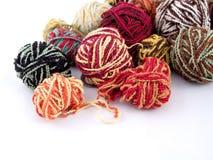 Balls of yarn. Some balls of yarn Royalty Free Stock Photo