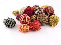 Balls of yarn. Some balls of yarn Stock Photo