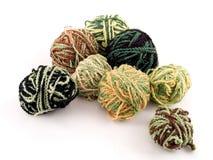 Balls of yarn. Some balls of yarn Stock Image