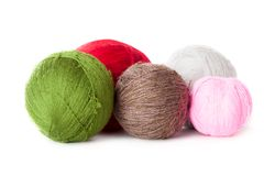 Balls of yarn Royalty Free Stock Photos