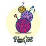 Balls of yarn Stock Image