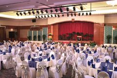 Ballsaal Lizenzfreie Stockfotos