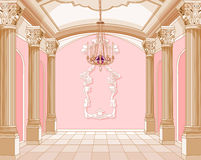 Ballsaal des magischen Schlosses Stockfoto