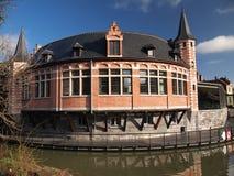 Ballsaal (Gent, Belgien) Stockfotografie