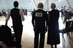 Ballsaaltanzturnier Lizenzfreies Stockfoto