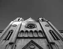 Balluta教会 免版税库存图片