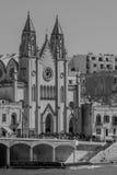 Balluta Church royalty free stock photos