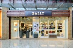 Bally магазин на выходе строба города Стоковое фото RF