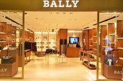 Bally boutiqie bij Suvarnabhumi-Luchthaven Royalty-vrije Stock Afbeelding
