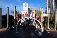 Bally's Hotel at Las Vegas, USA Royalty Free Stock Image
