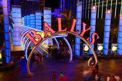 Bally's Las Vegas Stock Photo