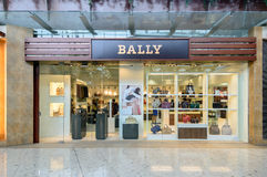 Bally shop at City gate Outlet. HONGKONG - JUNE 15 :Bally shop at City gate Outlet, JUNE 15, 2014,city gate outlet is owned by a consortium of Hong Kong's Royalty Free Stock Photo