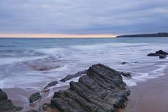 ballybrannigan пляж Стоковые Фотографии RF