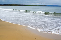 Ballybunion beach near the cashen estuary. In county kerry ireland Stock Photos