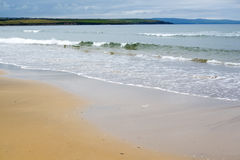 Ballybunion beach near the cashen Royalty Free Stock Photos