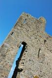 Ballybunion castle kerry ireland. Ruin of ancient irish castle, west of ireland Royalty Free Stock Images