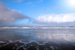 Ballybunion coast reflection Stock Photo