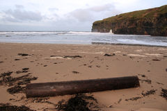 Ballybunion driftwood Stock Photos