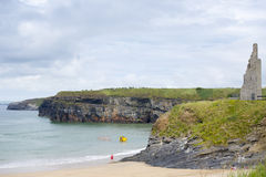 Ballybunion sea and cliff rescue service launcher Royalty Free Stock Image