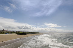 Ballybunion town and beach Royalty Free Stock Photo